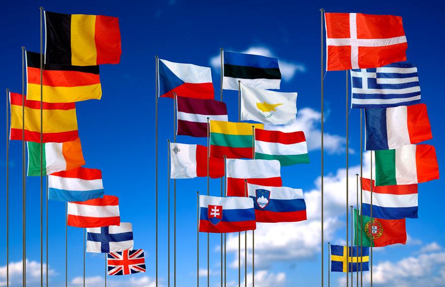 European-flags
