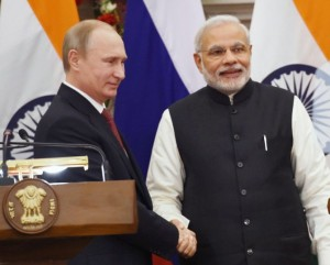 India-Russia joint press conference